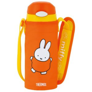Thermos Straw Bottle Miffy (FFI-400FB)