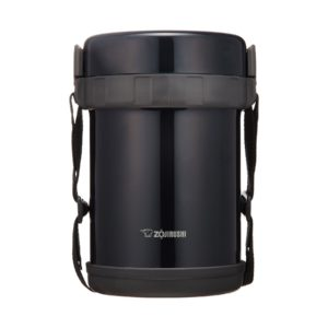 Zojirushi Stainless Lunch Jar - Navy Black (GG-18)