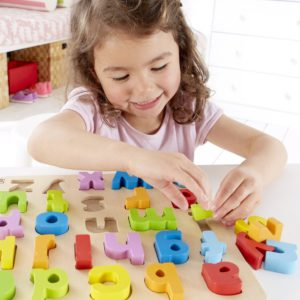 Hape - Lowercase Alphabet Stand Up Puzzle