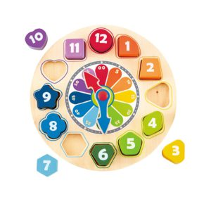 Hape Blocks Clock