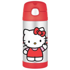 Thermos Hello Kitty Straw Bottle
