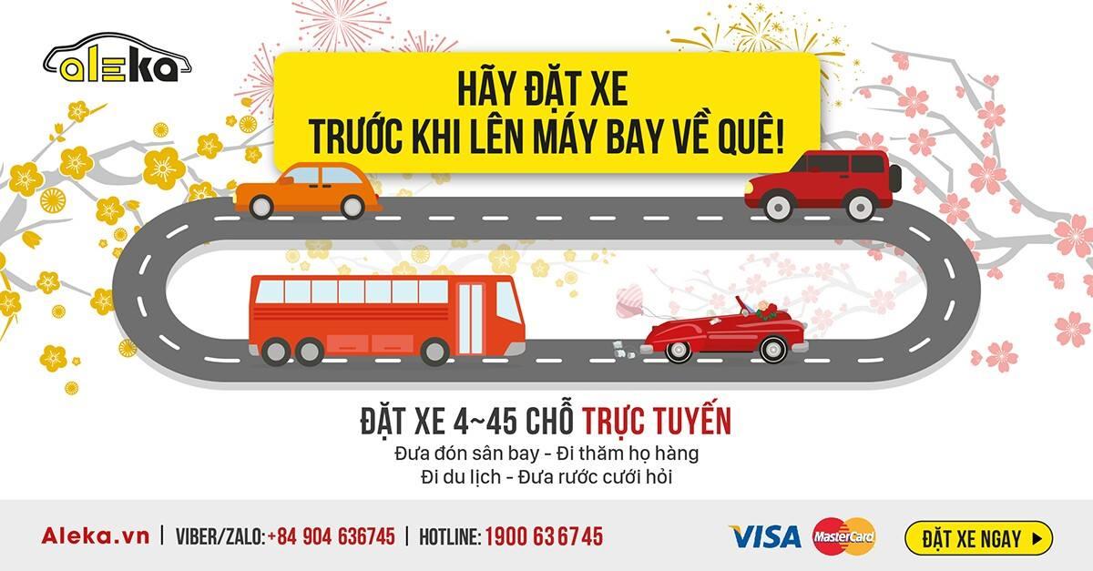 Thuê xe Việt kiều Tết