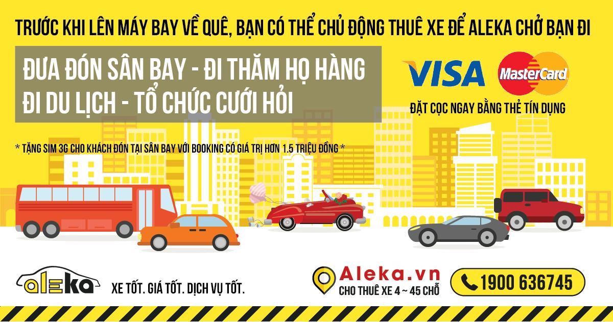 Viet Kieu thue xe online