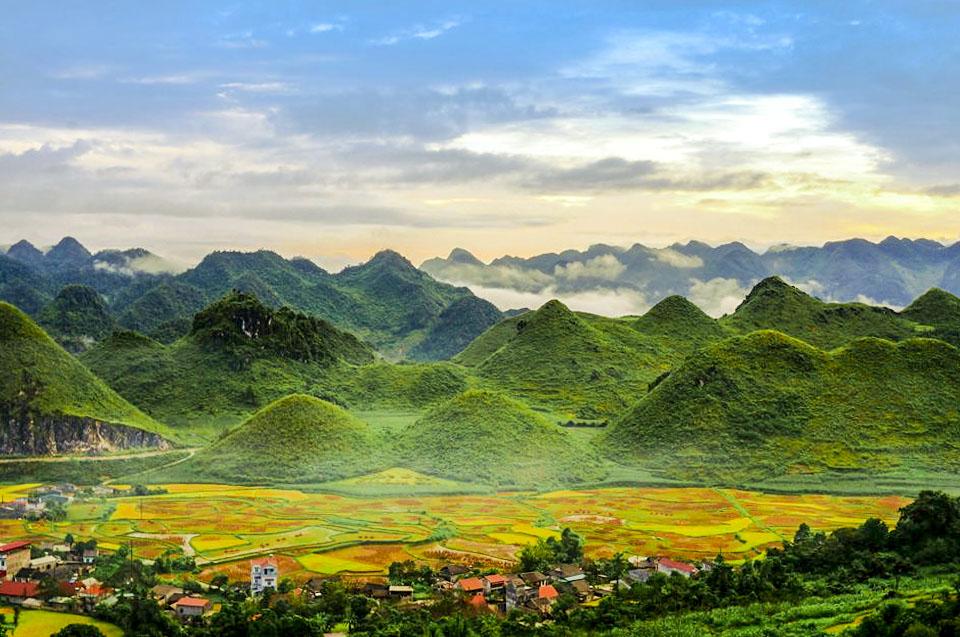 núi đôi quản bạ. Trần Quí Thịnh - Aleka.