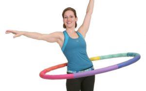 olahraga membakar kalori - hula hoop
