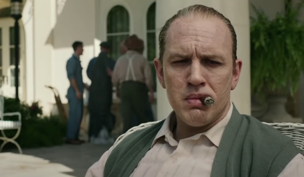 Tom Hardy Sebagai Al Capone