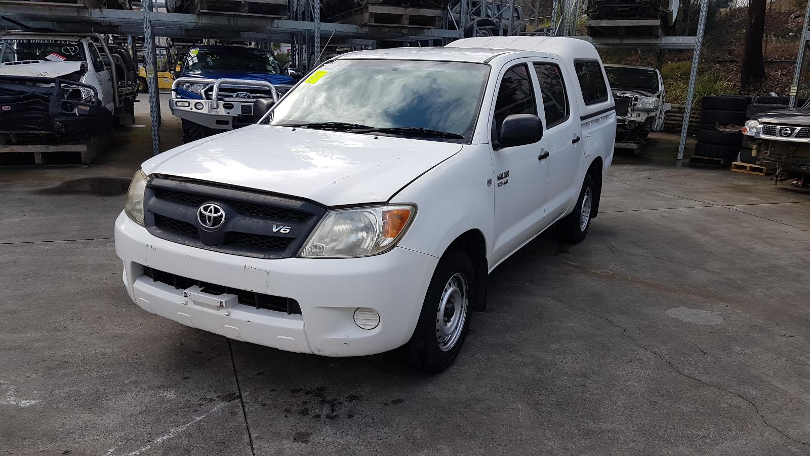 Image for a Toyota Hilux 2007 4 Door Suv