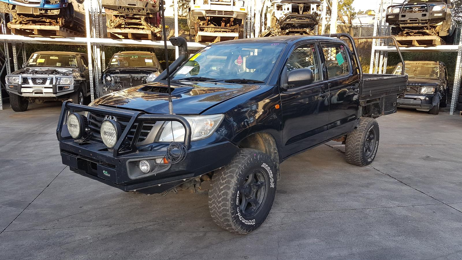 Image for a Toyota Hilux 2012 4 Door Pickup