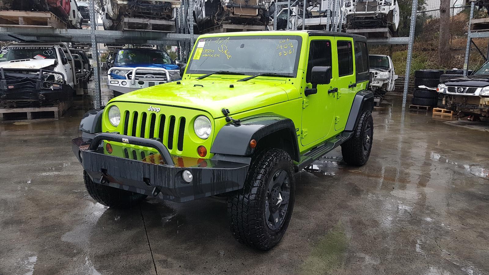Image for a Jeep Wrangler 2012 4 Door Estate