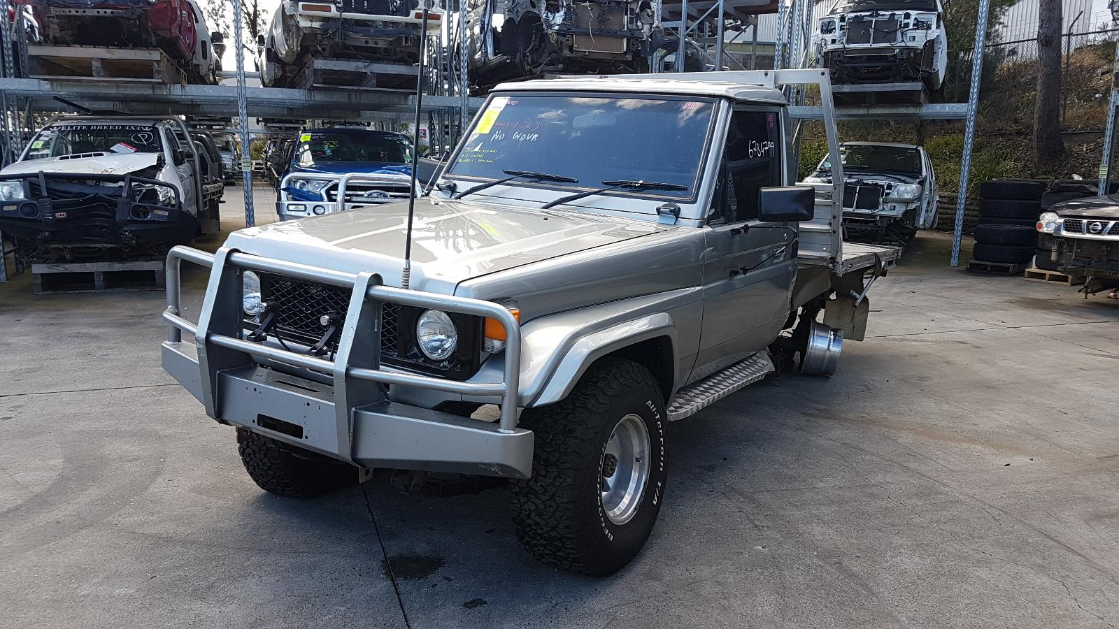 Image for a Toyota Landcruiser 1988 2 Door Suv