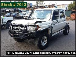 View Auto part Trans/Gearbox Toyota Landcruiser 2013