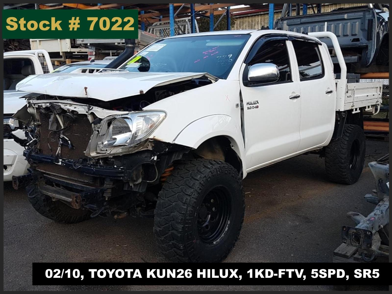 Image for a Toyota Hilux 2010 4 Door Pickup