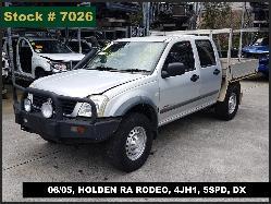 View Auto part Door/Boot/Gate Lock Holden Rodeo 2005