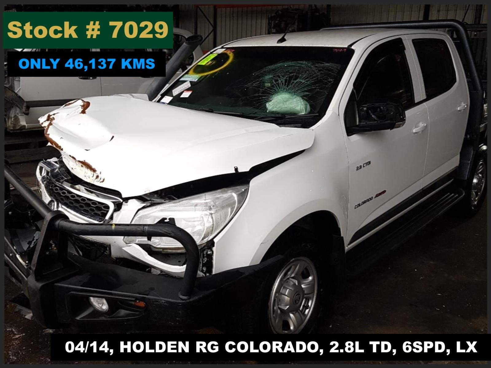 Image for a Holden Colorado 2014 4 Door Pickup