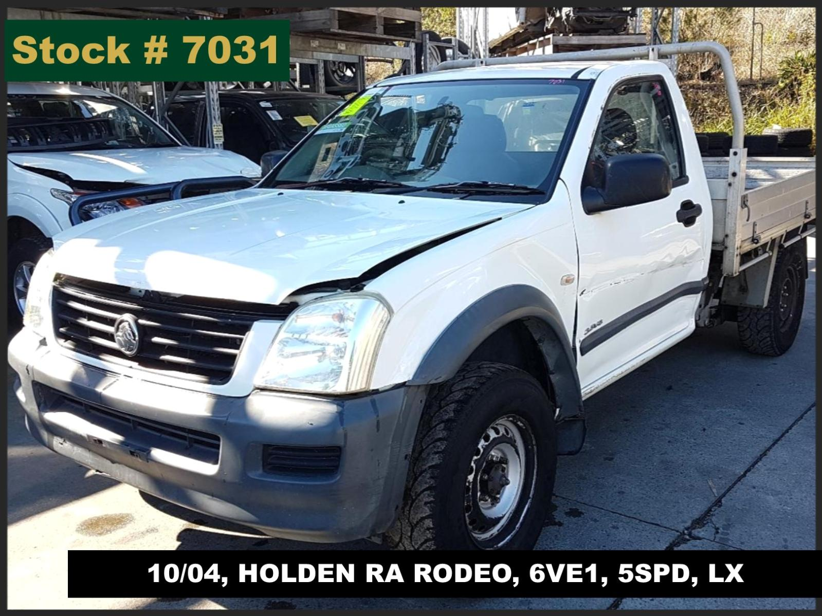 Image for a Holden Rodeo 2005 2 Door Pickup