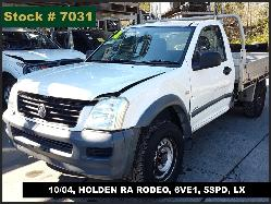View Auto part Axle Holden Rodeo 2005