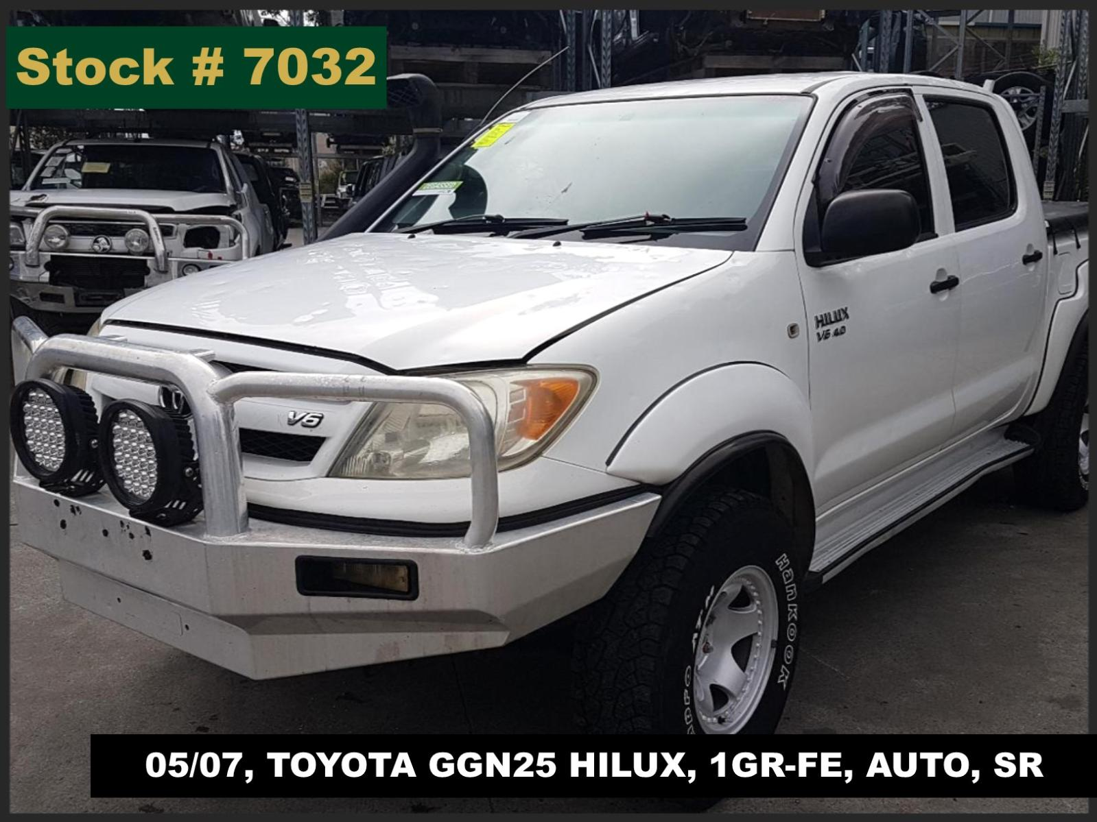 Image for a Toyota Hilux 2007 4 Door Pickup