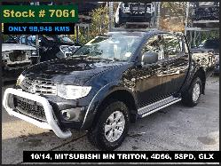 View Auto part Trans/Gearbox Mitsubishi Triton 2014