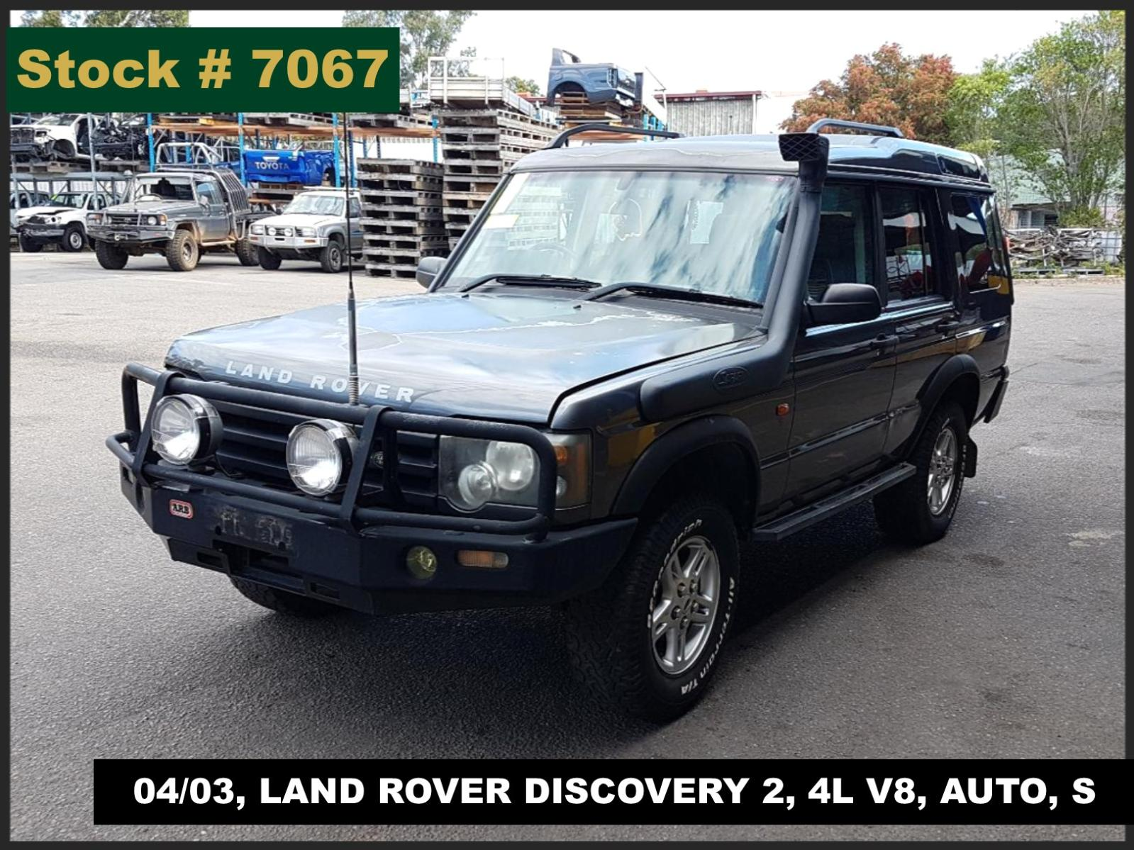Image for a Landrover Discovery 2003 4 Door Estate
