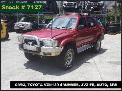 View Toyota 4 Runner 1992 4 Door Estate