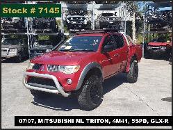 View Auto part Radio/Cd/Dvd/Sat/Tv Mitsubishi Triton 2007
