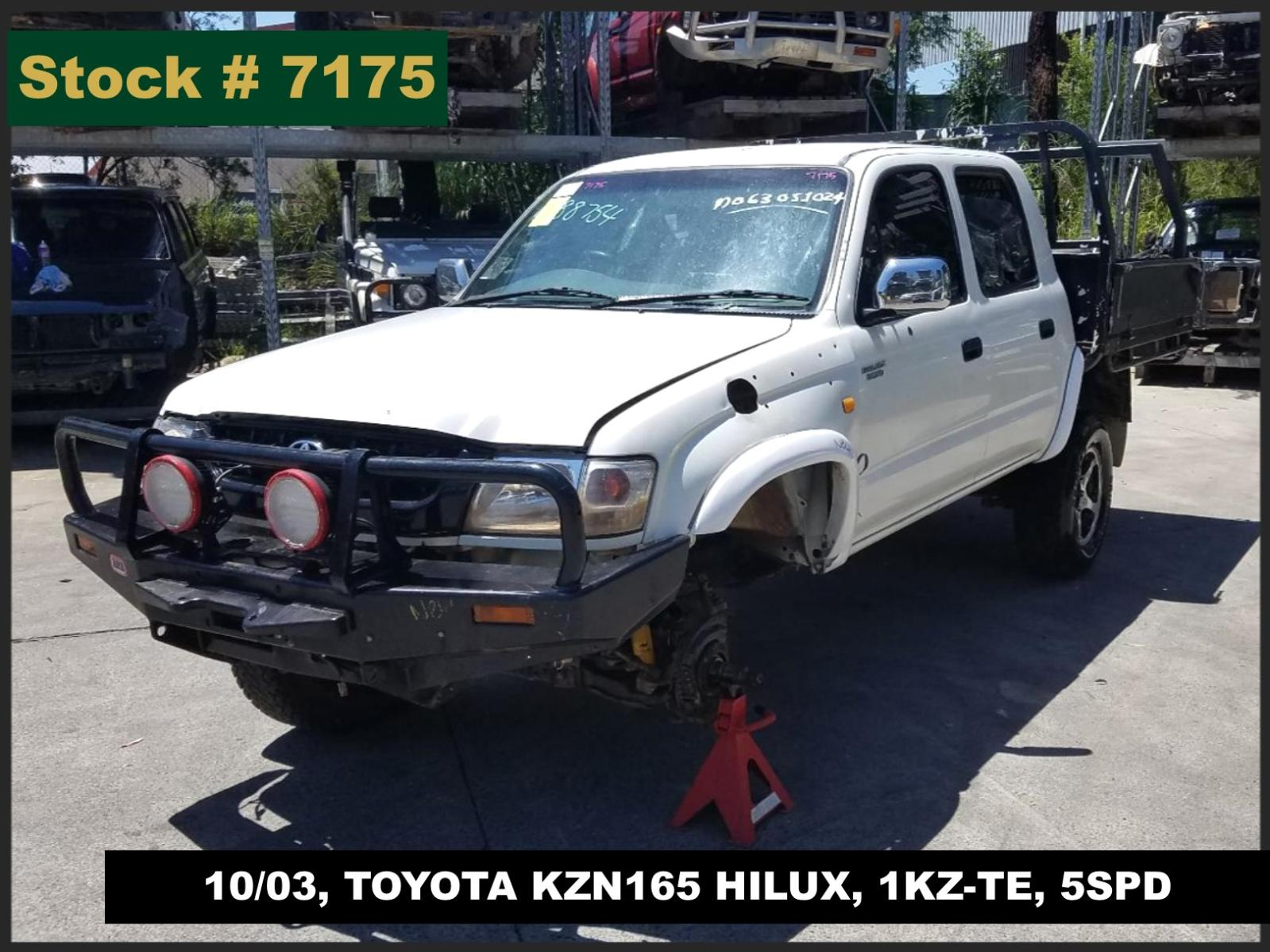Image for a Toyota Hilux 2003 4 Door Pickup