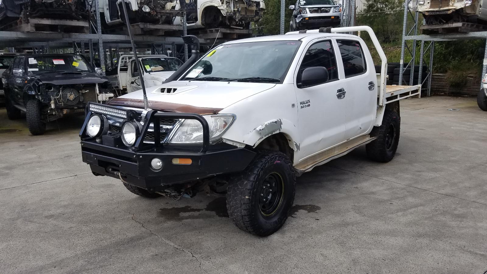 Image for a Toyota Hilux 2008 4 Door Pickup