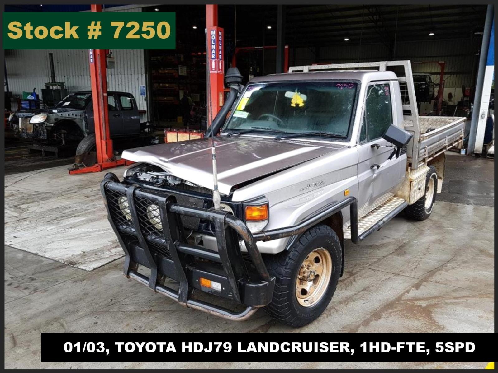 Image for a Toyota Landcruiser 2003