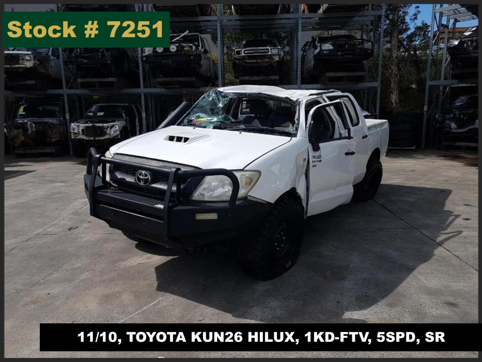 Image for a Toyota Hilux 2010
