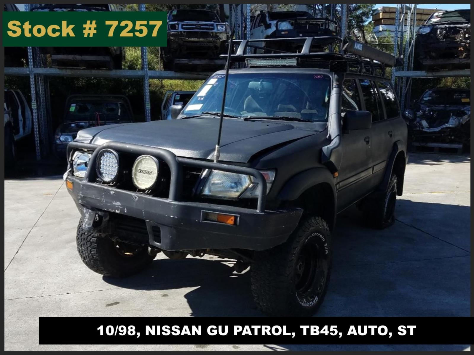 Image for a Nissan Patrol 1999