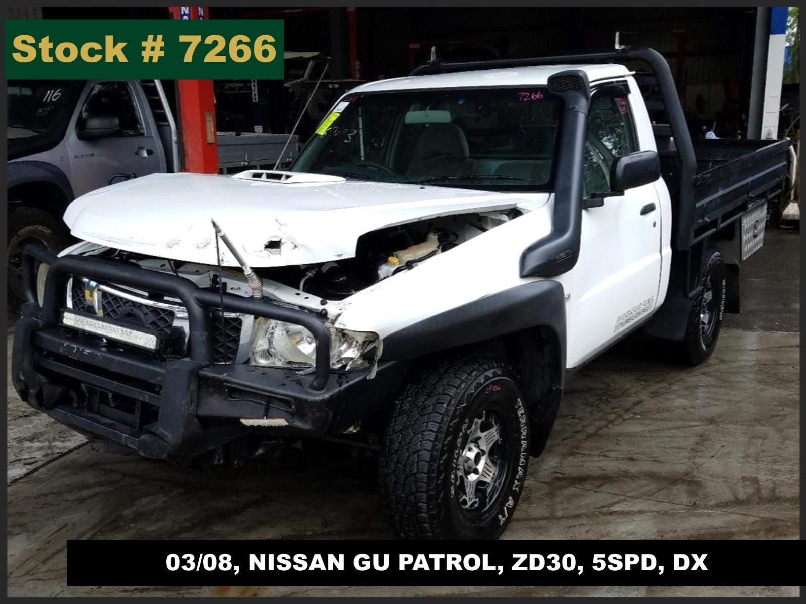 Image for a Nissan Patrol 2008