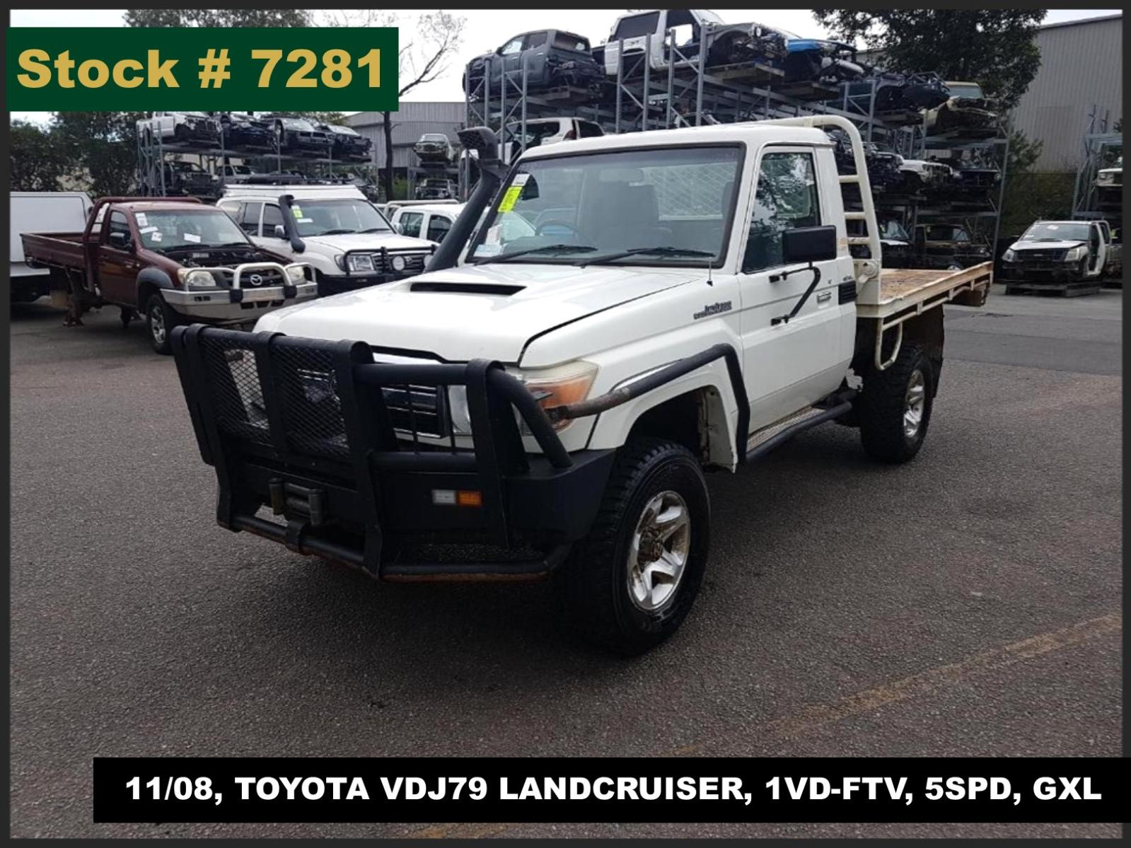 Image for a Toyota Landcruiser 2008