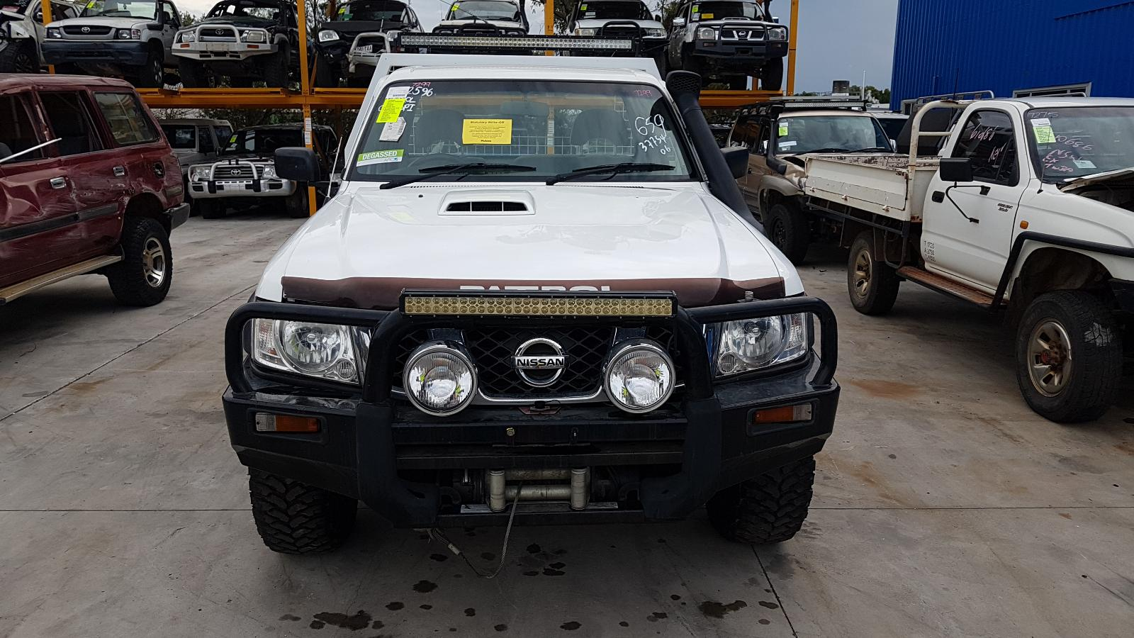 View Auto part Ute Back Nissan Patrol 2008