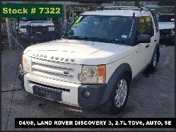 View Auto part Differential Centre Land Rover Discovery 2008