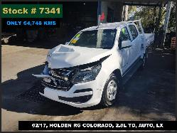 View Auto part Trans/Gearbox Holden Colorado 2017