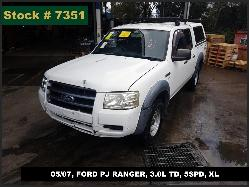 View Auto part Trans/Gearbox Ford Ranger 2007