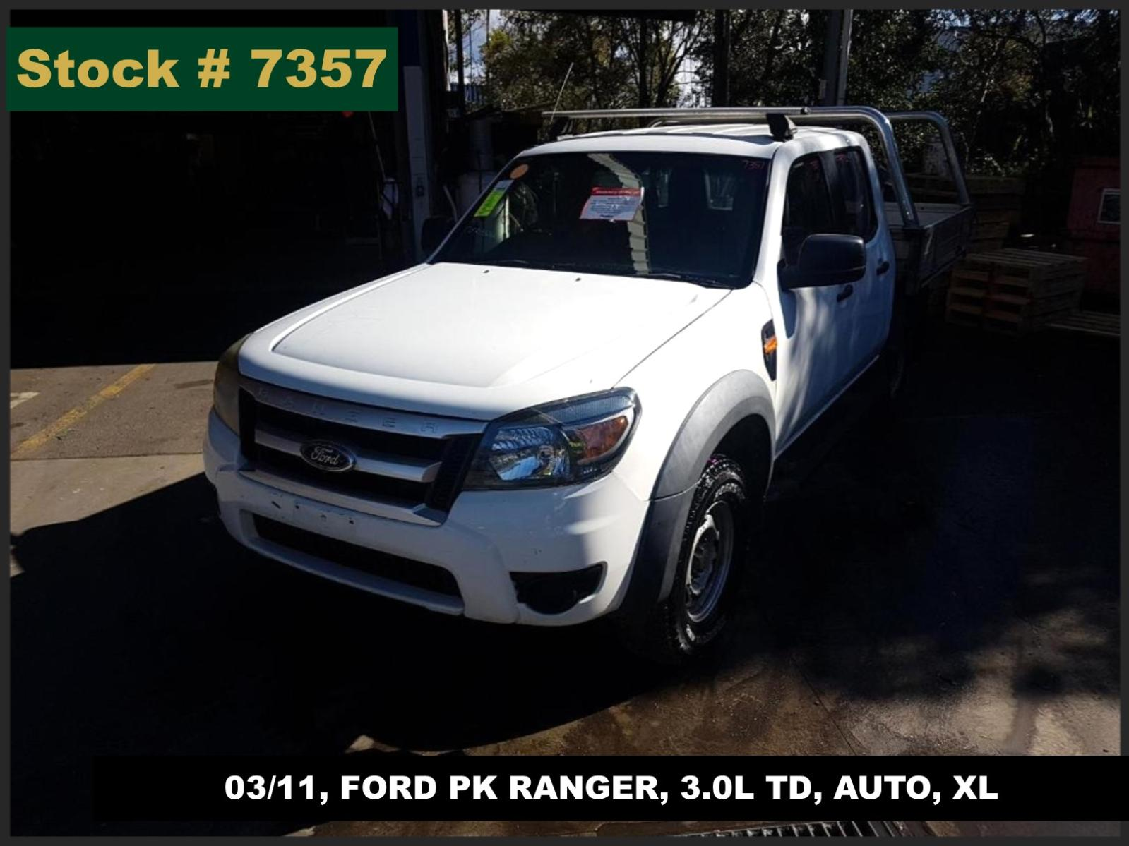 Image for a Ford Ranger 2011 4 Door Utility