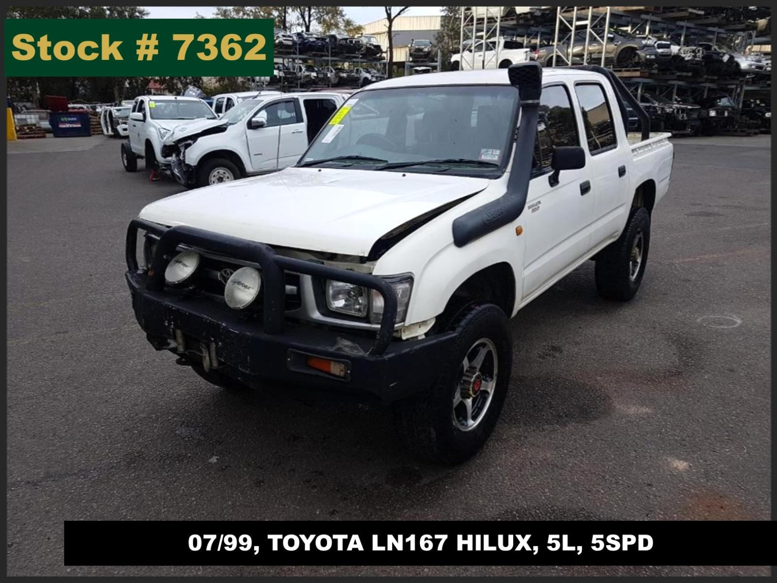 Image for a Toyota Hilux 1999 4 Door Utility