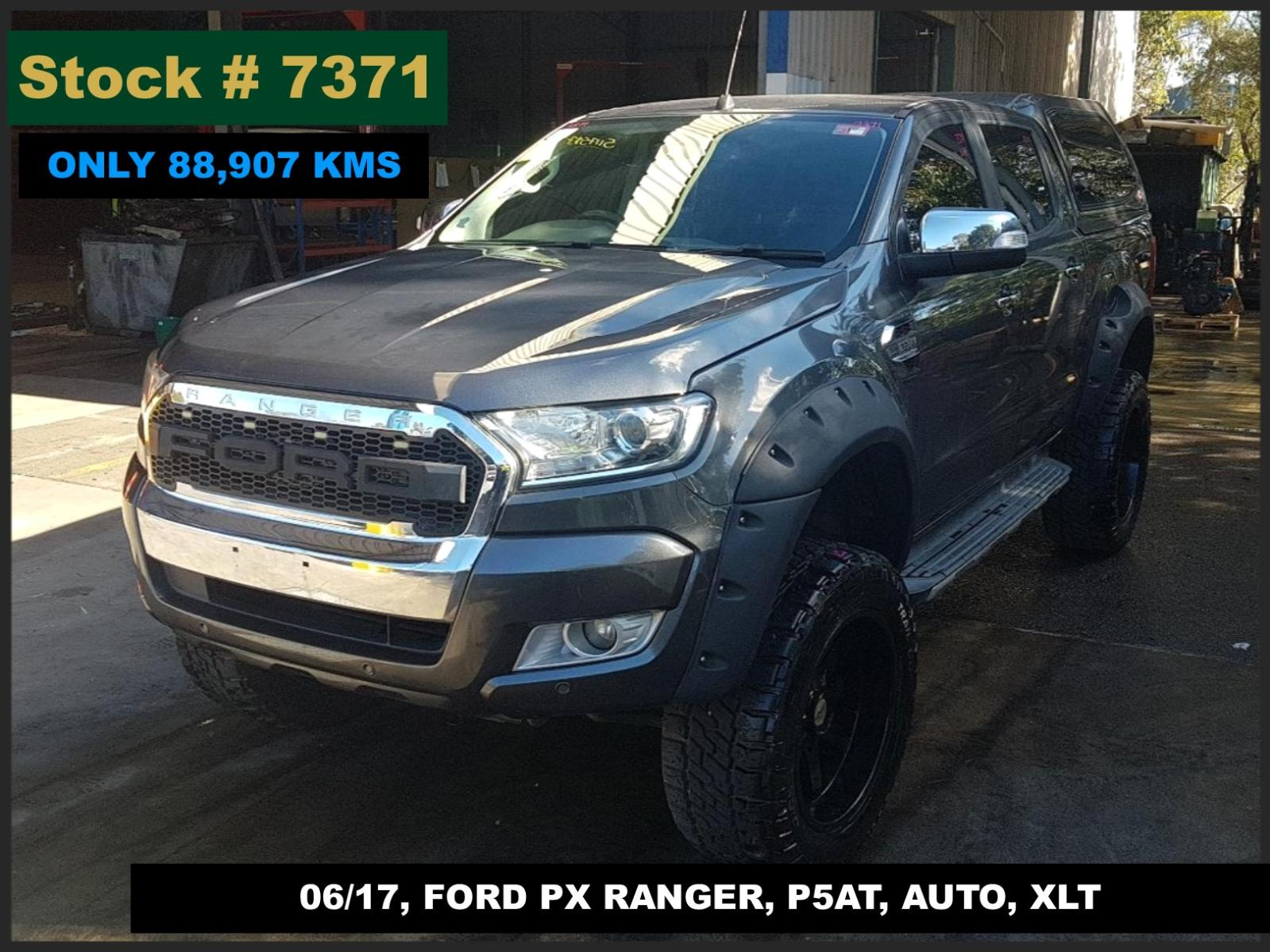 Image for a Ford Ranger 2017 4 Door Utility
