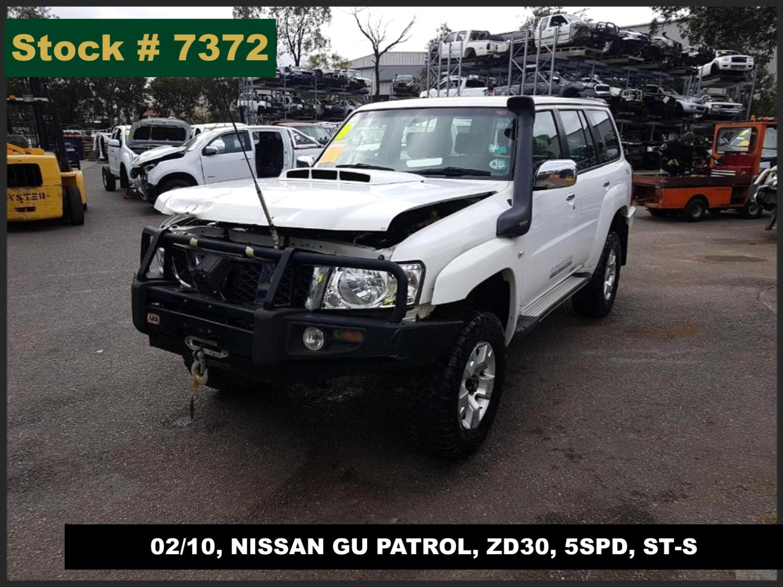 Image for a Nissan Patrol 2010 4 Door Station Wagon
