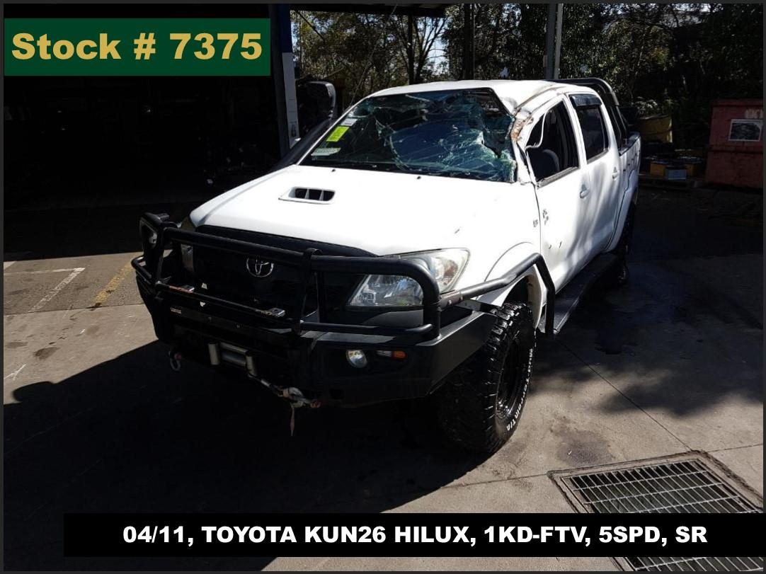 Image for a Toyota Hilux 2010 4 Door Utility
