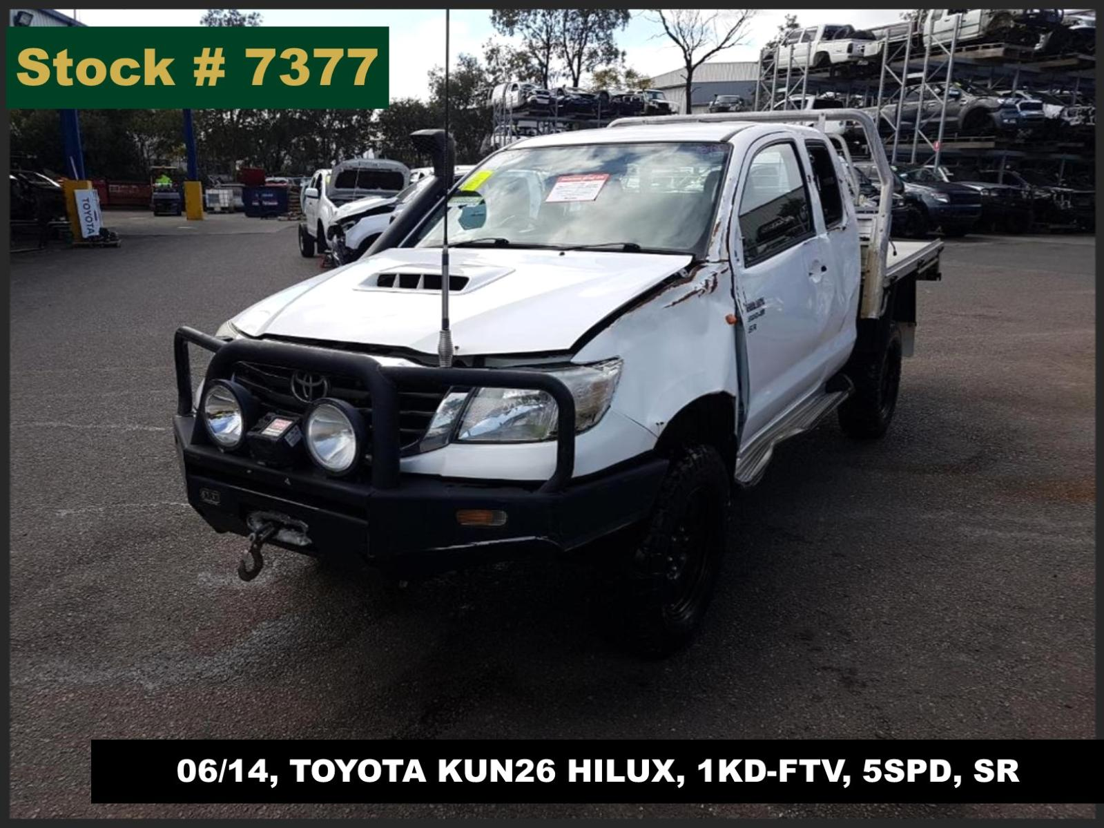 Image for a Toyota Hilux 2014 2 Door Utility