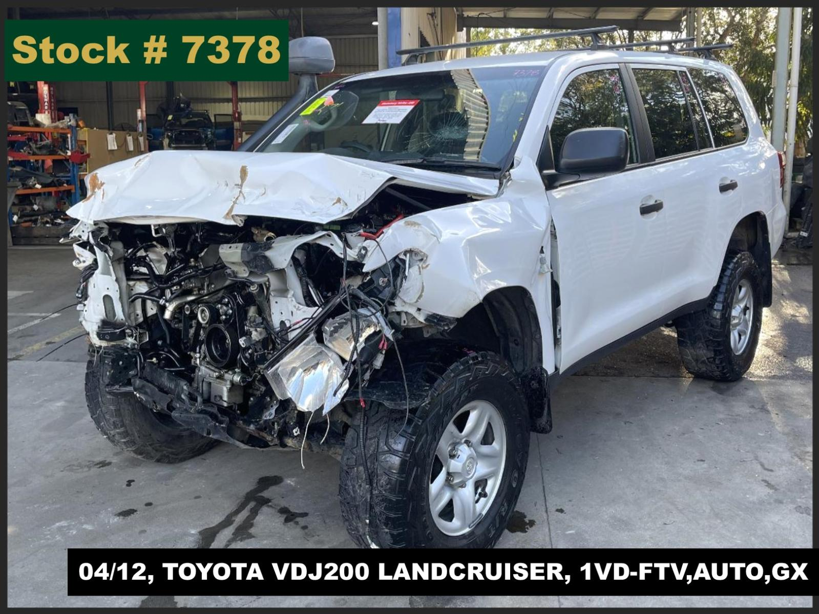 Image for a Toyota Landcruiser 2012 4 Door Station Wagon