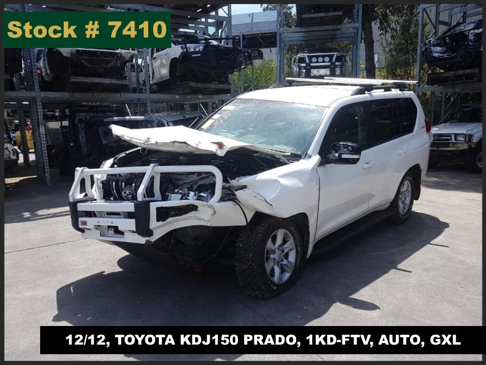Image for a Toyota Prado 2012 4 Door Station Wagon