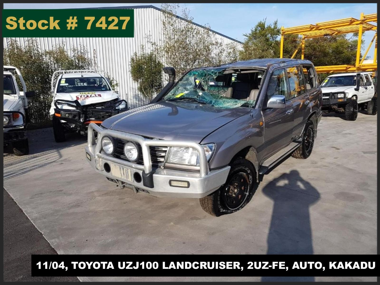 Image for a Toyota Landcruiser 2004 4 Door Station Wagon
