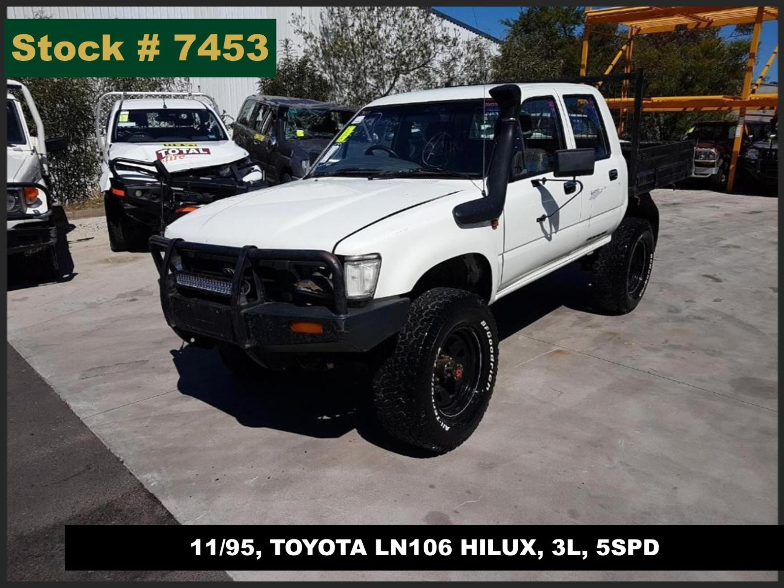 Image for a Toyota Hilux 1996 4 Door Utility