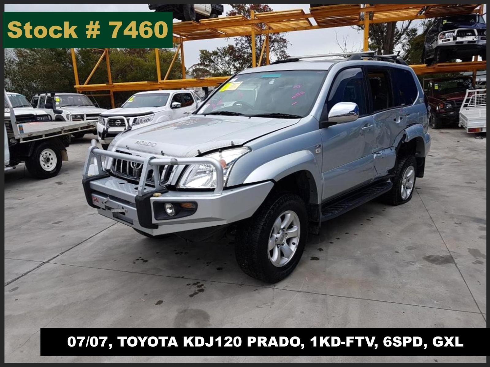 Image for a Toyota Prado 2007 4 Door Station Wagon