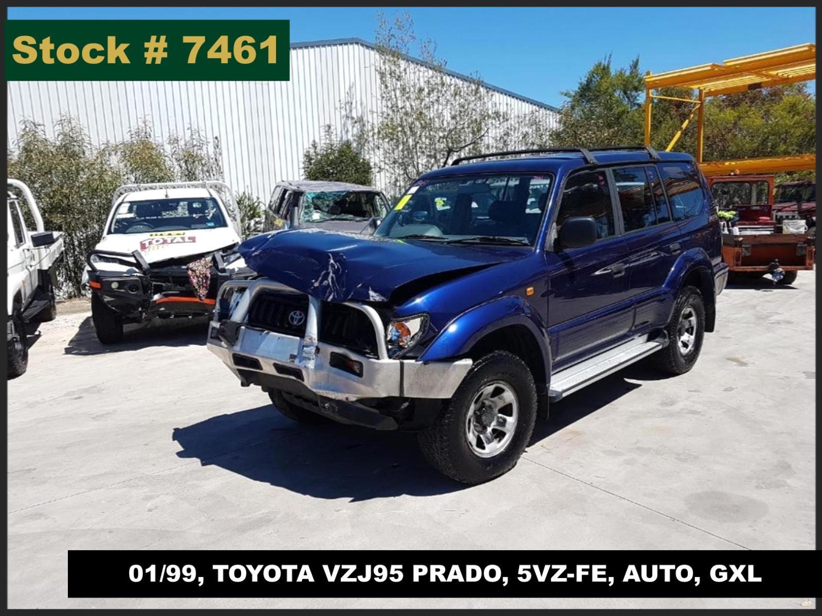 Image for a Toyota Prado 1999 4 Door Station Wagon