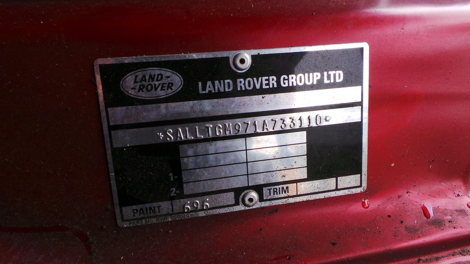 View Auto part Pwr Dr Wind Switch Land Rover Discovery 2001