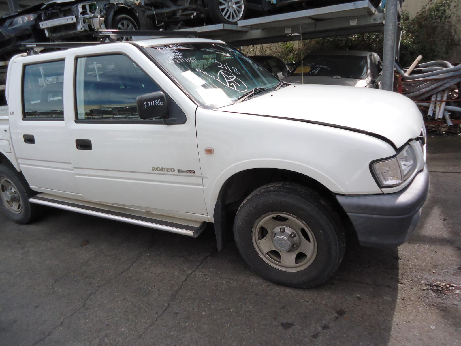 2002 Holden Rodeo Seatbelt/Stalk